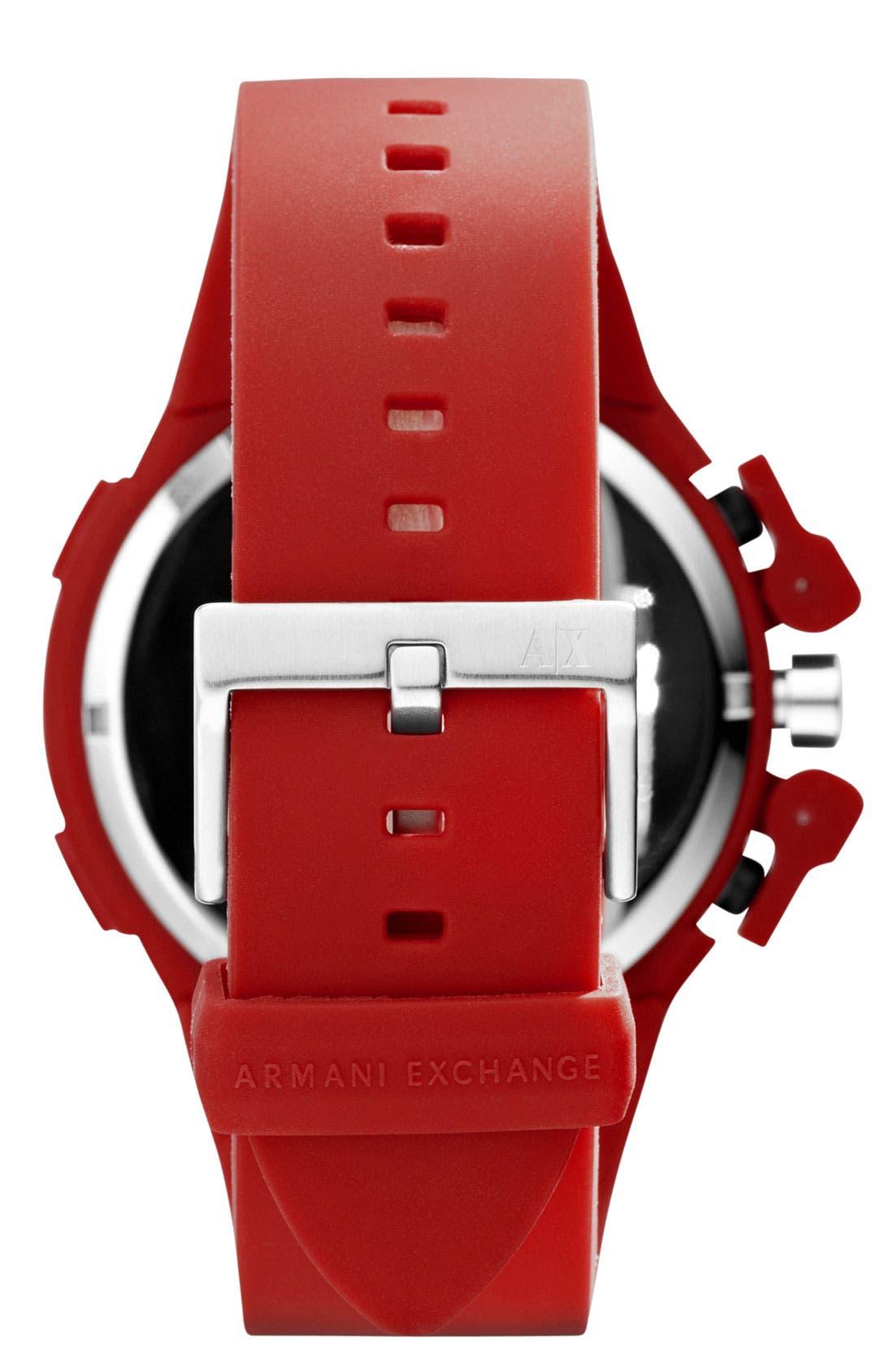 Alternate Image 3  - AX Armani Exchange Dual Movement Watch, 47mm