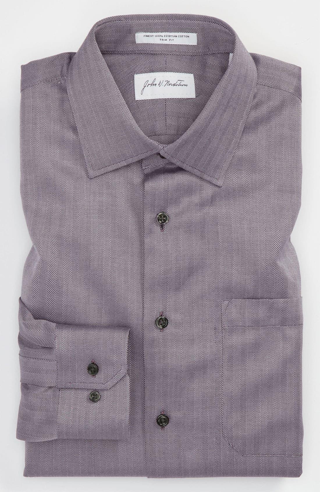 Main Image - John W. Nordstrom® Trim Fit Dress Shirt