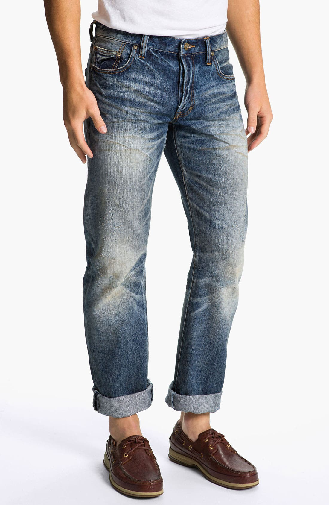 Alternate Image 2  - PRPS 'Barracuda' Straight Leg Jeans (Light Wash)
