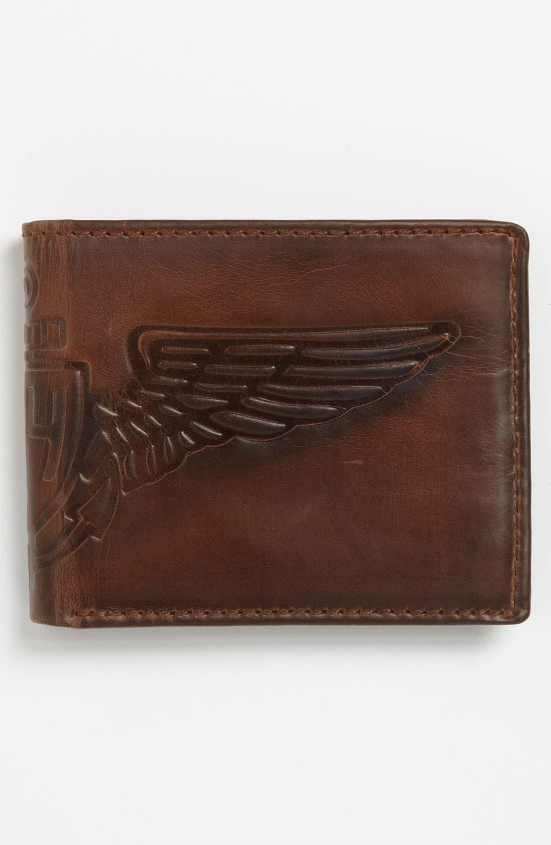 Alternate Image 3  - Fossil 'Flatiron Traveler' Wallet