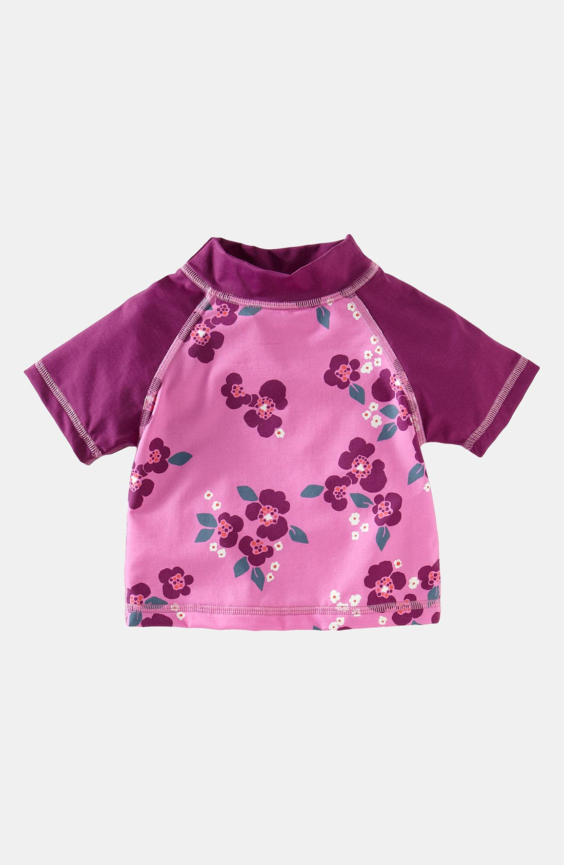 Alternate Image 1 Selected - Tea Collection 'Beach Blooms' Rashguard (Little Girls & Big Girls)