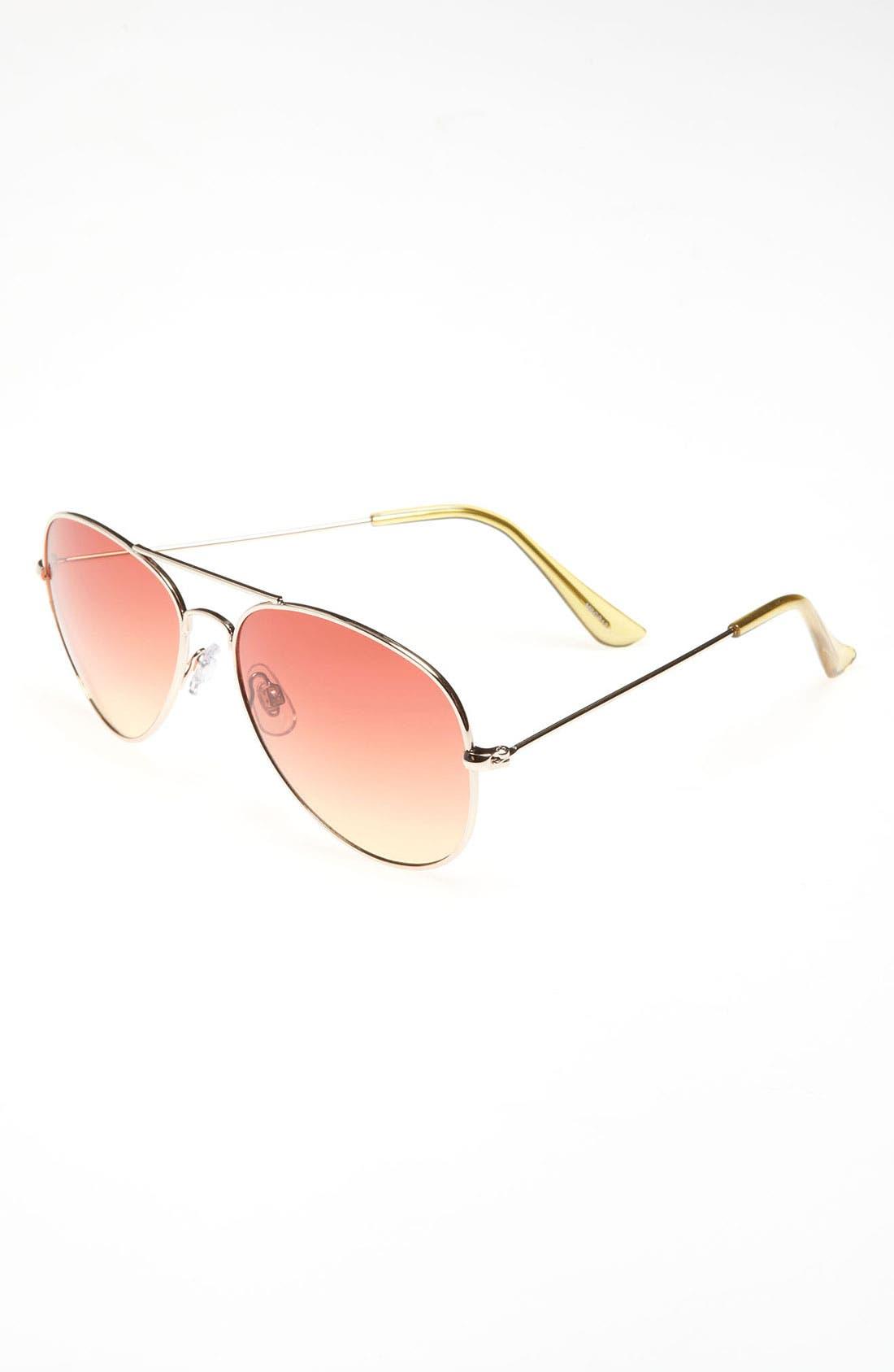 Main Image - Fantas Eyes Aviator Sunglasses (Girls)