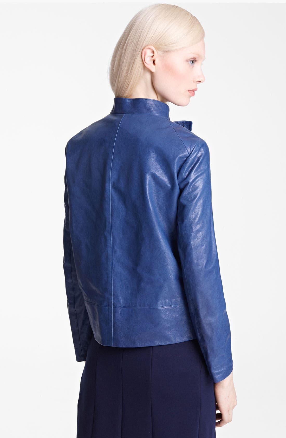 Alternate Image 2  - Jil Sander Leather Jacket