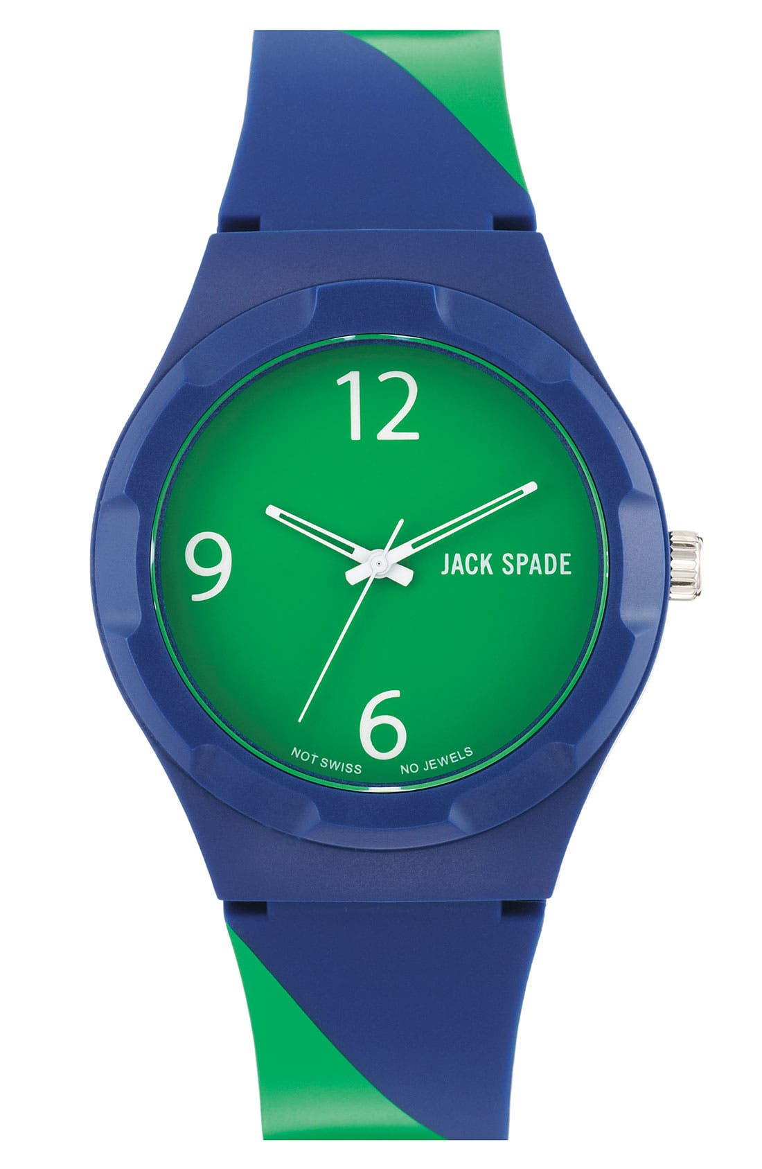 Alternate Image 1 Selected - Jack Spade 'Graphic - Stripe' Watch, 40mm