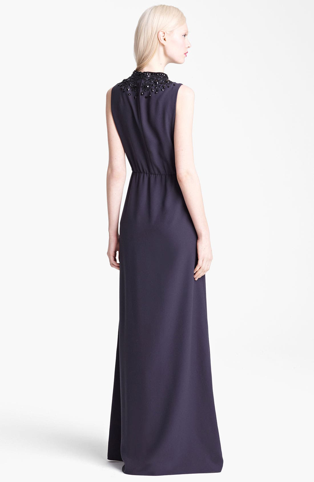 Alternate Image 2  - Moschino Cheap & Chic Beaded Neckline Maxi Dress