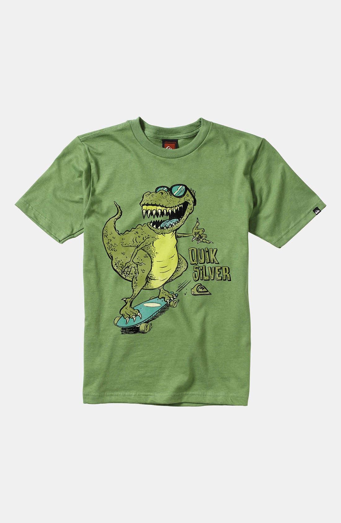 Alternate Image 1 Selected - Quiksilver 'Dino Shred' T-Shirt (Little Boys)