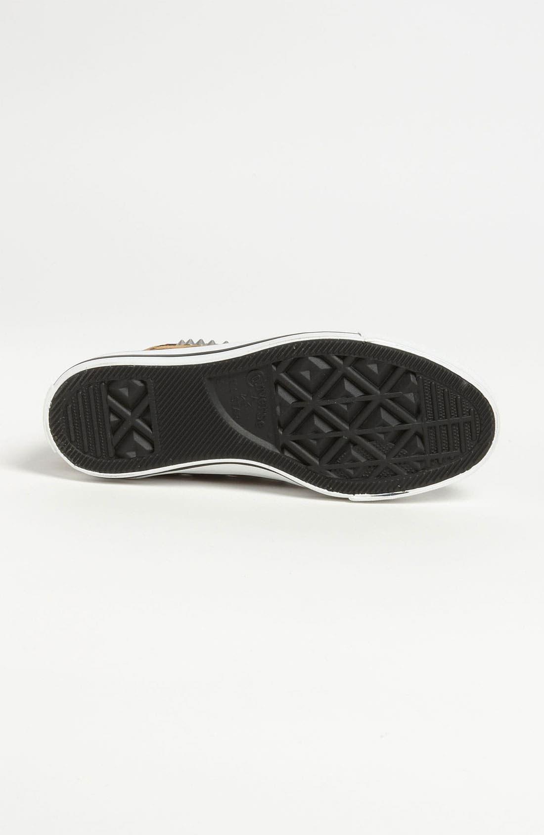 Alternate Image 4  - Converse Chuck Taylor® All Star® Leopard Stud High Top Sneaker