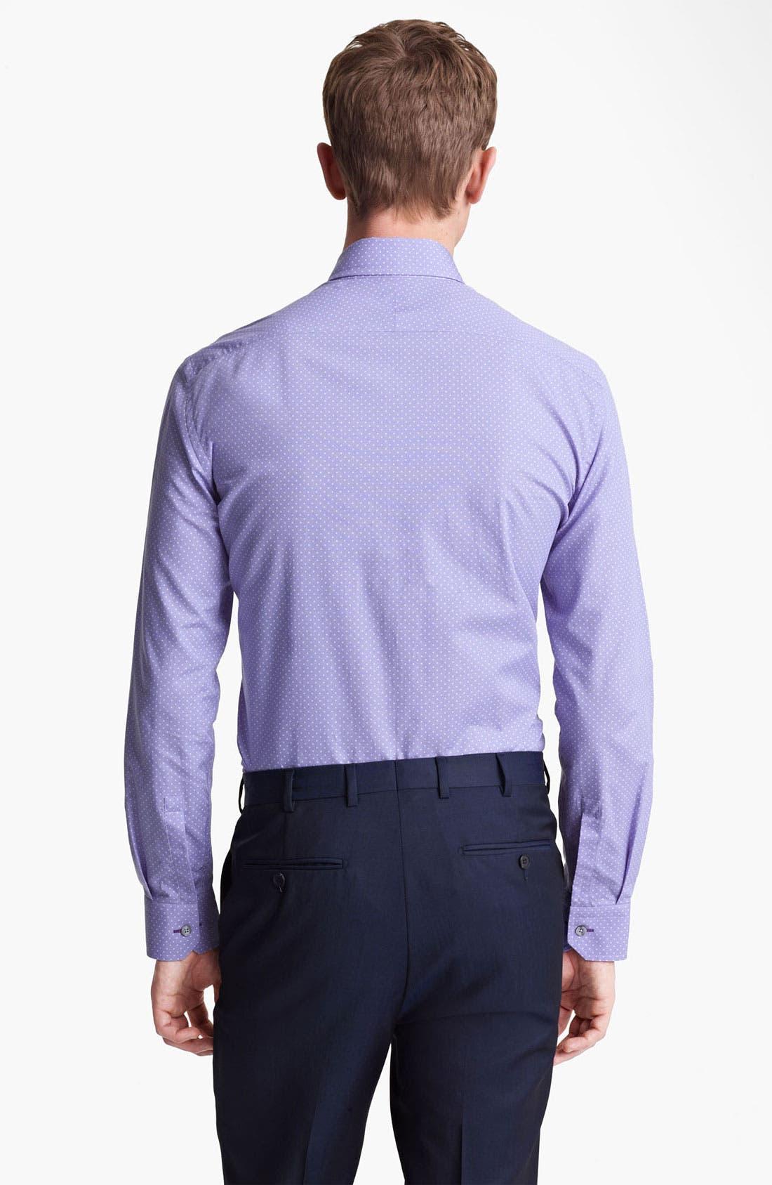 Alternate Image 2  - Paul Smith London Pin Dot Dress Shirt