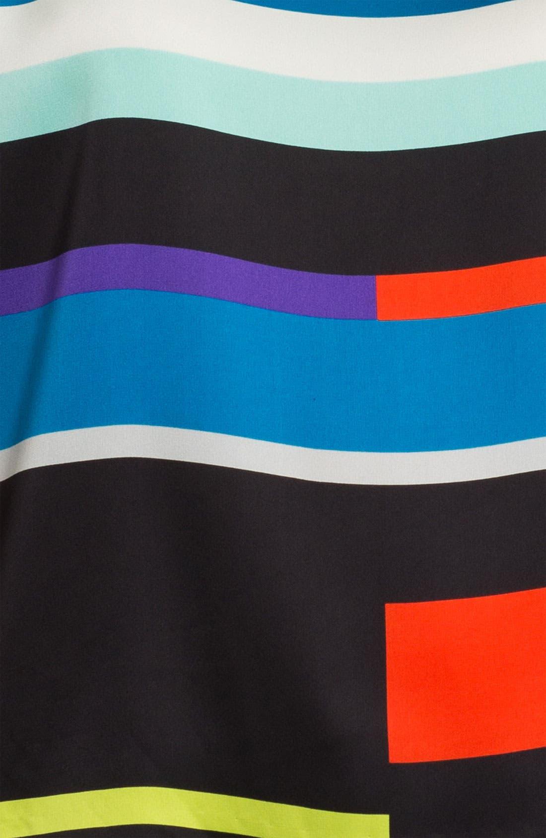 Alternate Image 3  - Vince Camuto 'Graphic Lines' Blouse (Petite)