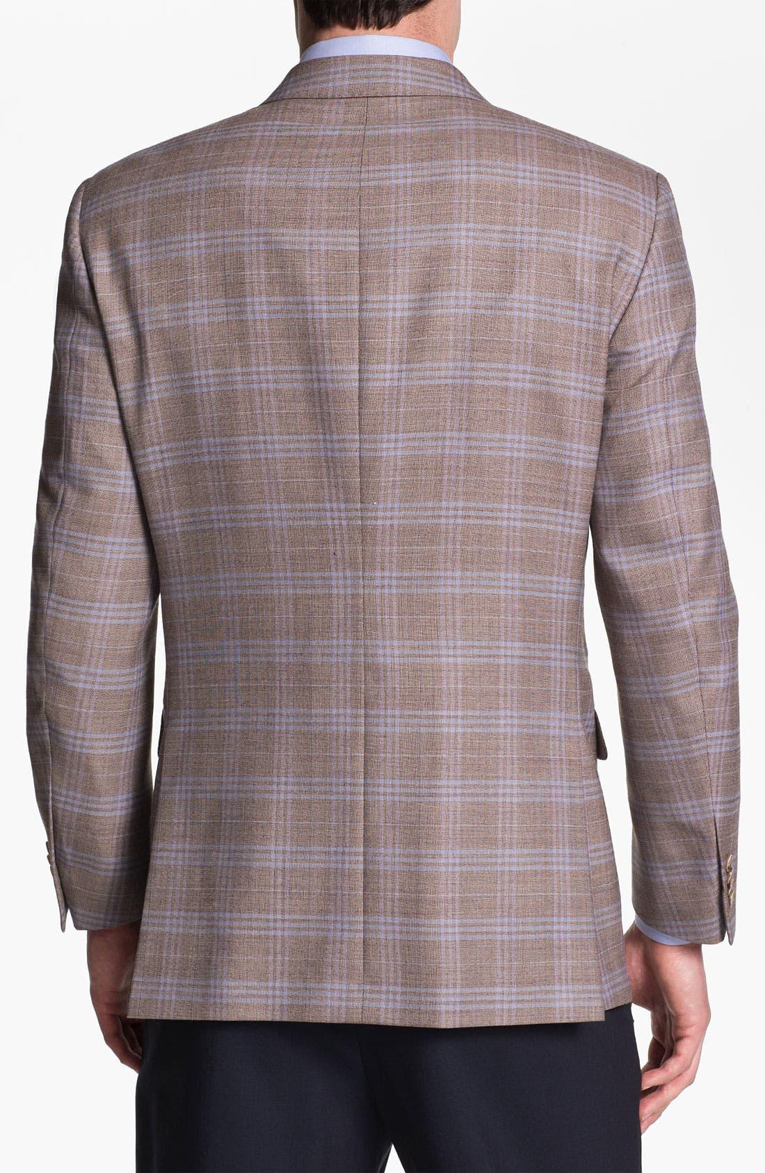 Alternate Image 2  - Peter Millar Plaid Sportcoat