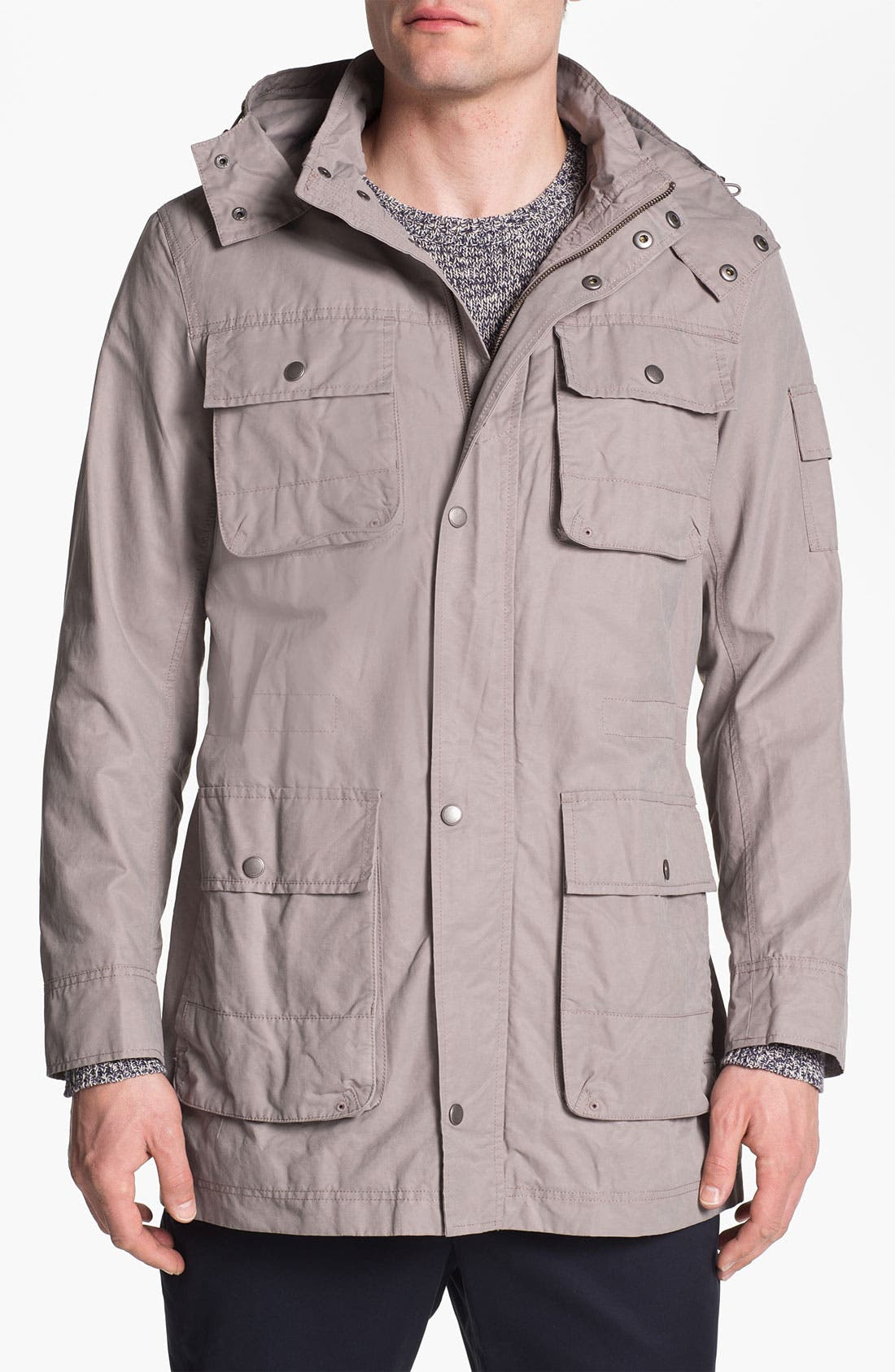 Alternate Image 1 Selected - Cole Haan Hooded Jacket