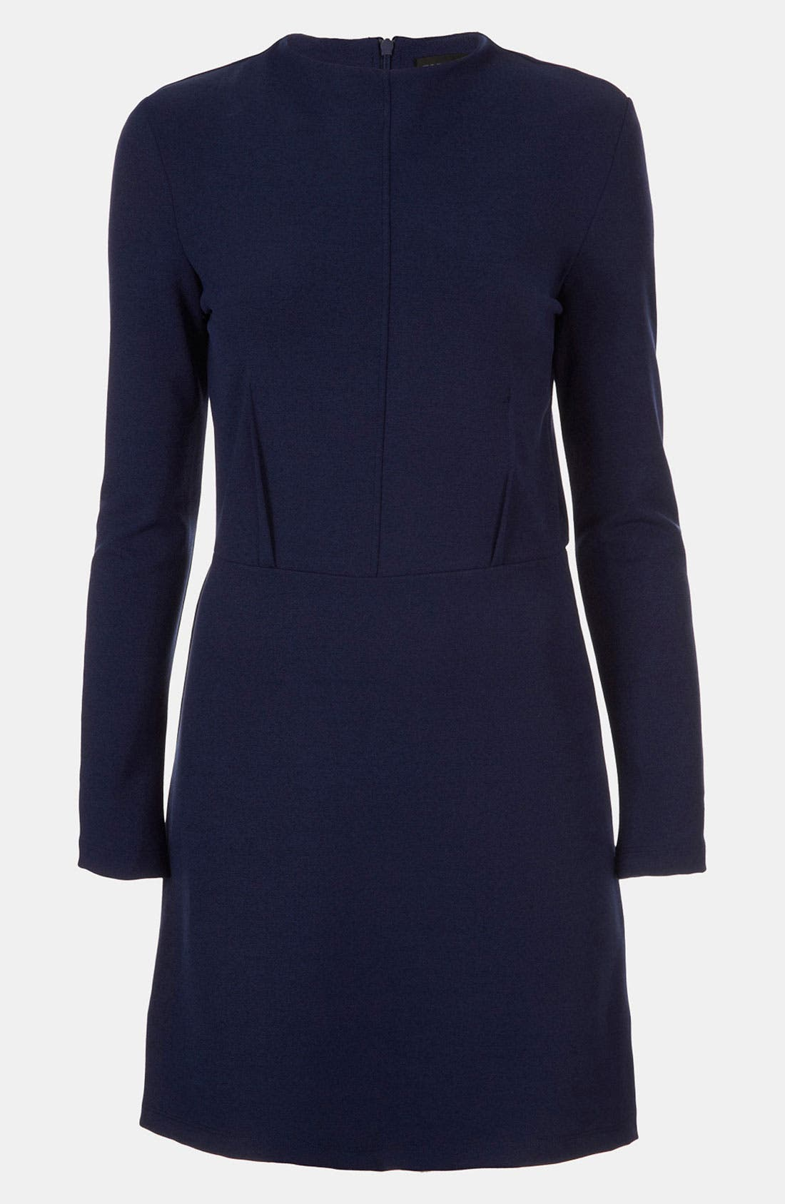 Main Image - Topshop High Neck Ponte Dress