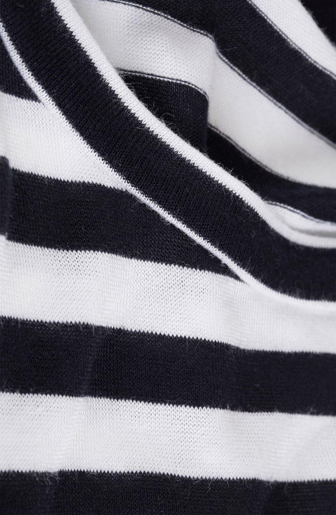Alternate Image 3  - Topshop Split Side Stripe Tee