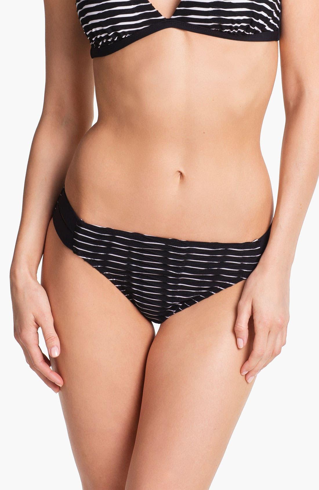 Main Image - La Blanca 'Bar' Side Tab Hipster Bikini Bottoms