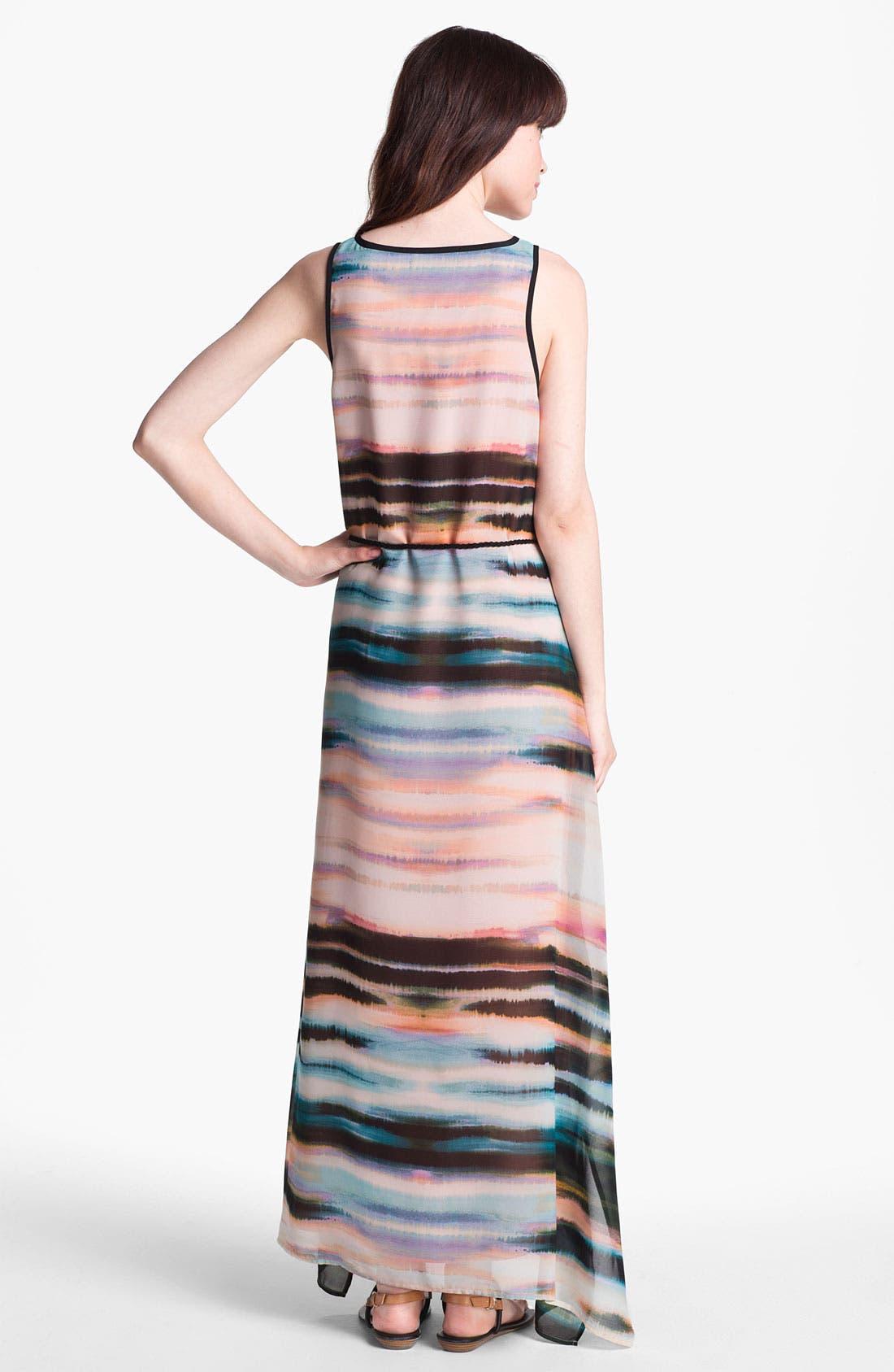 Alternate Image 2  - Sanctuary 'Painted Sky' Chiffon Maxi Dress