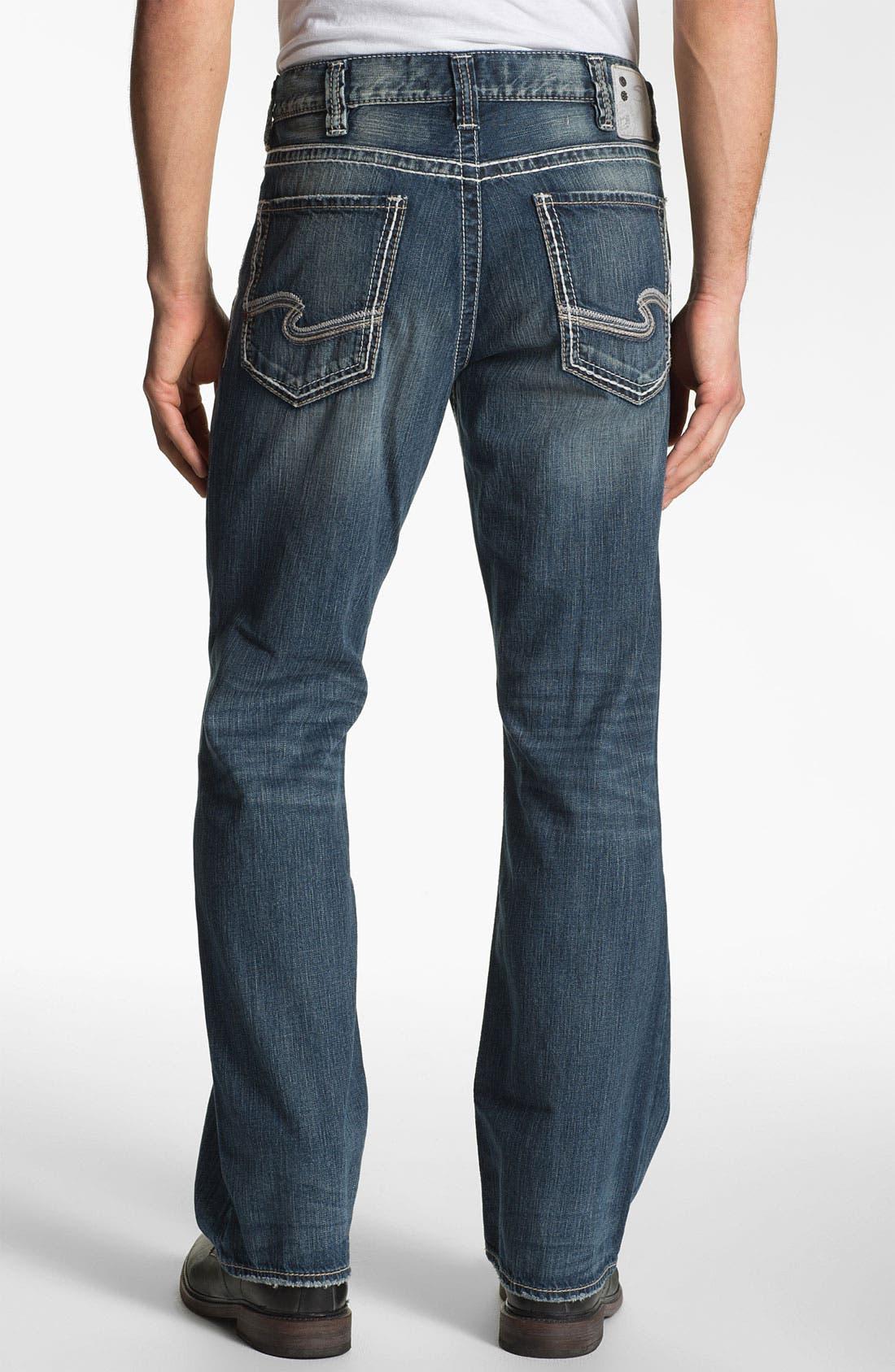 Main Image - Silver Jeans Co. 'Grayson' Bootcut Jeans (Indigo)