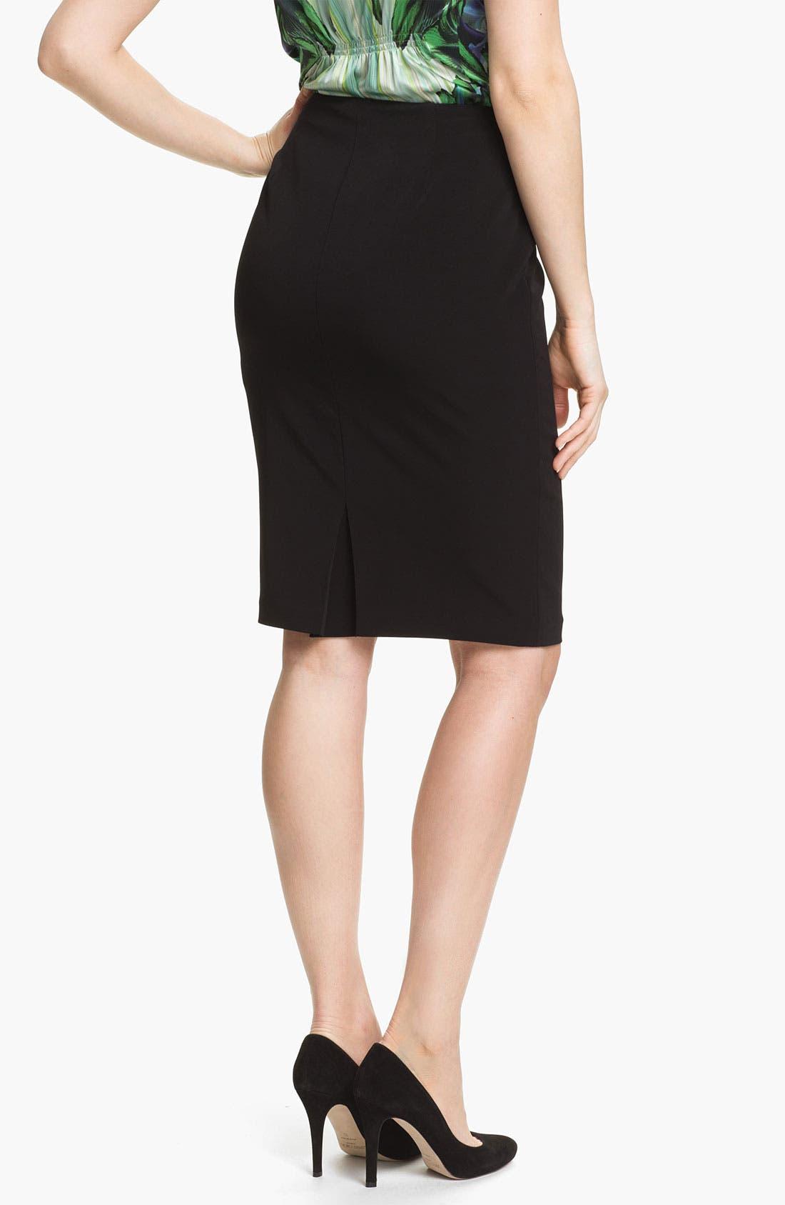 Alternate Image 2  - Elie Tahari 'Penelope - Luxe Crepe' Skirt