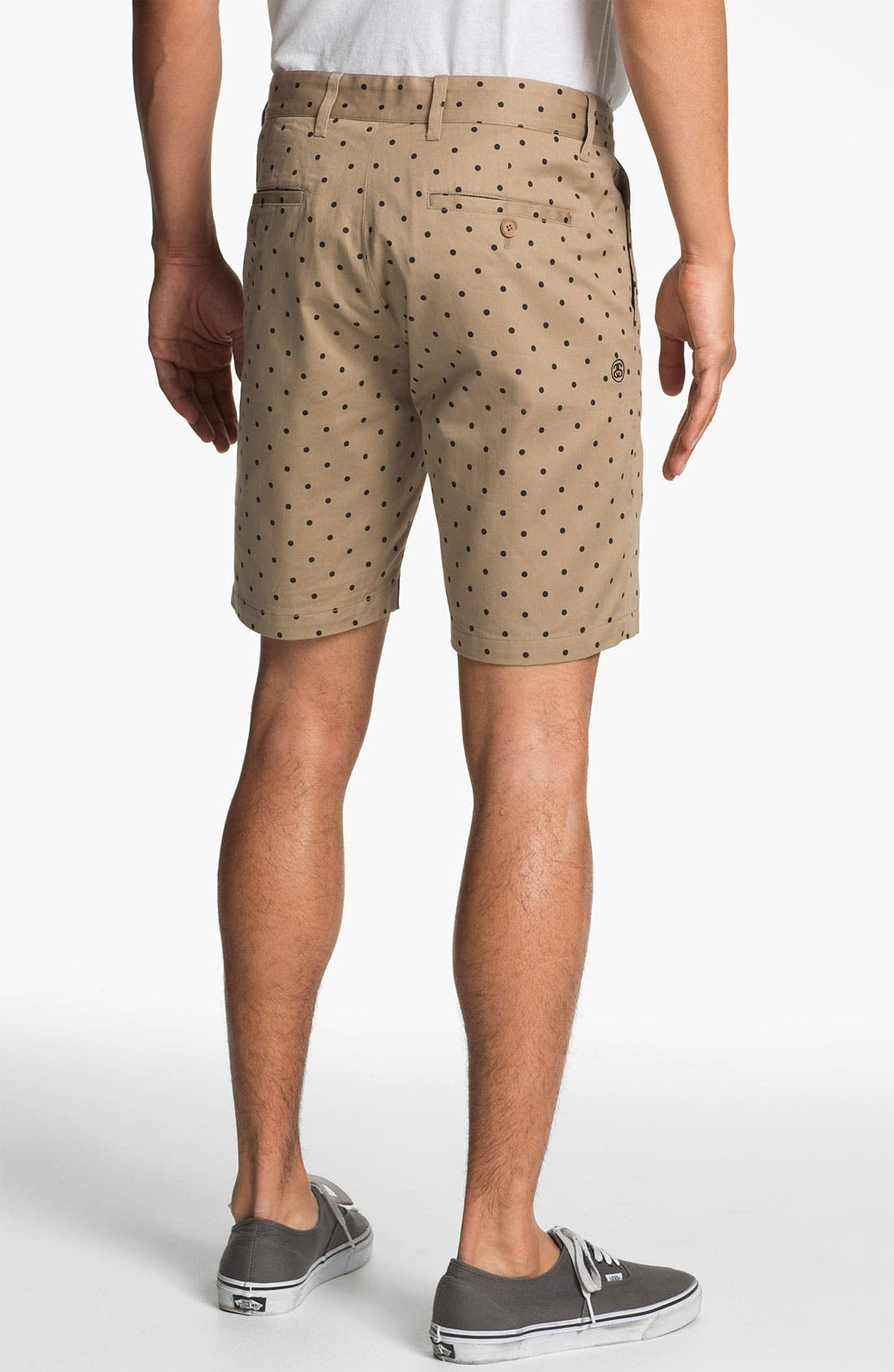 Alternate Image 2  - Stussy Deluxe 'Gramps' Polka Dot Shorts