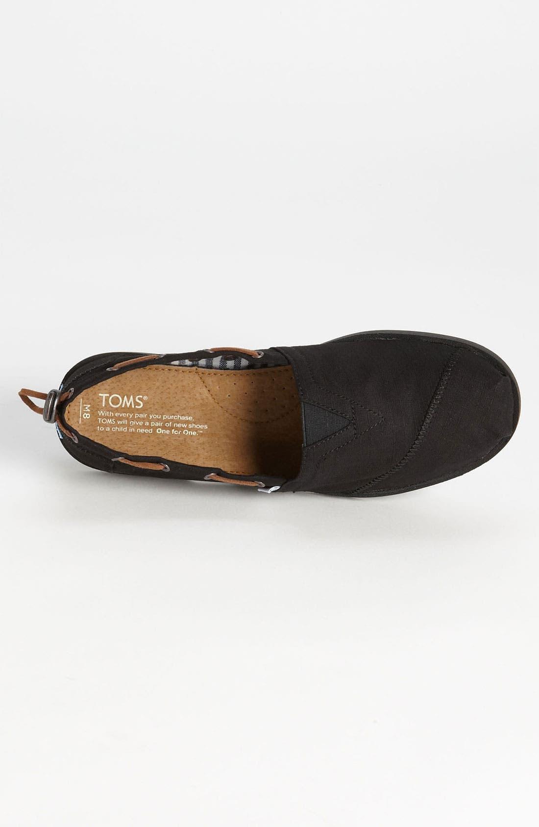 Alternate Image 3  - TOMS 'Bimini - Nautical' Boat Shoe (Men)