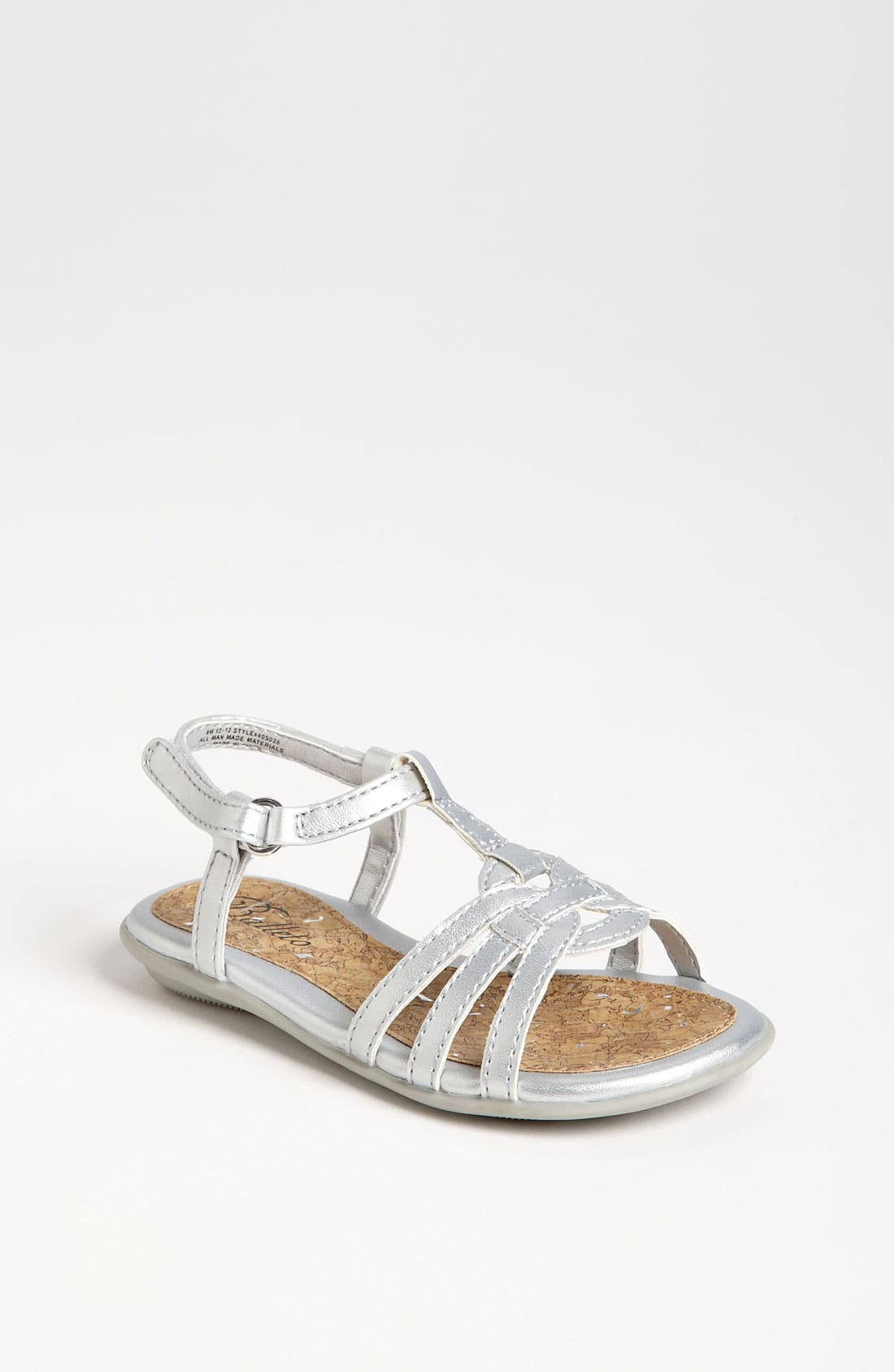 Alternate Image 1 Selected - Jumping Jacks 'Gabriella' Sandal (Walker, Toddler, Little Kid & Big Kid)