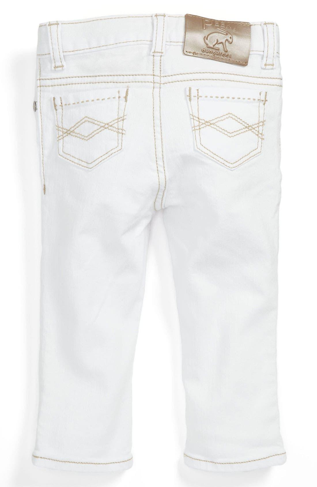 Alternate Image 1 Selected - Peek 'Maya' Skinny Jeans (Baby)