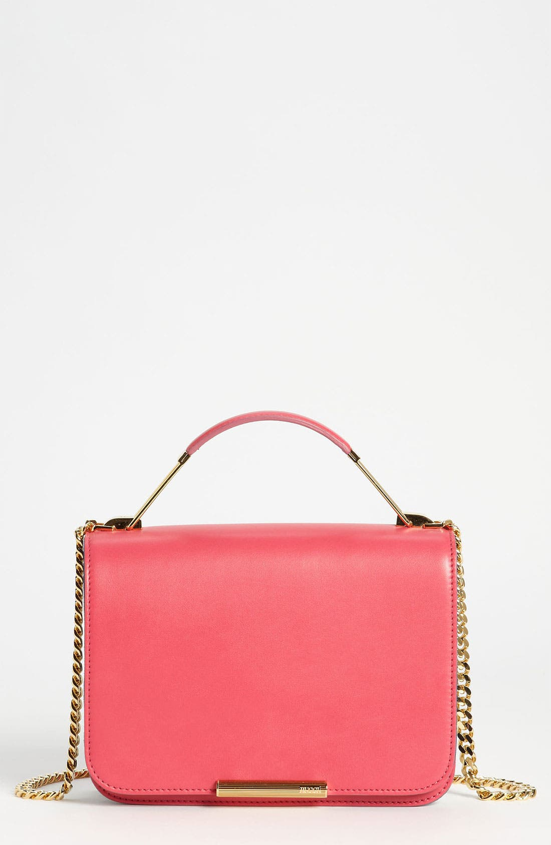 Main Image - Emilio Pucci Partitioned Leather Shoulder Bag