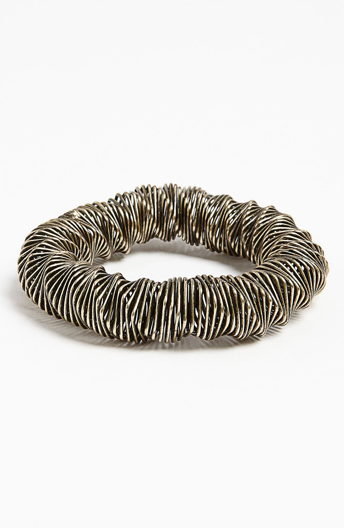 Alternate Image 1 Selected - Topshop 'Mega Spring' Coil Bracelet
