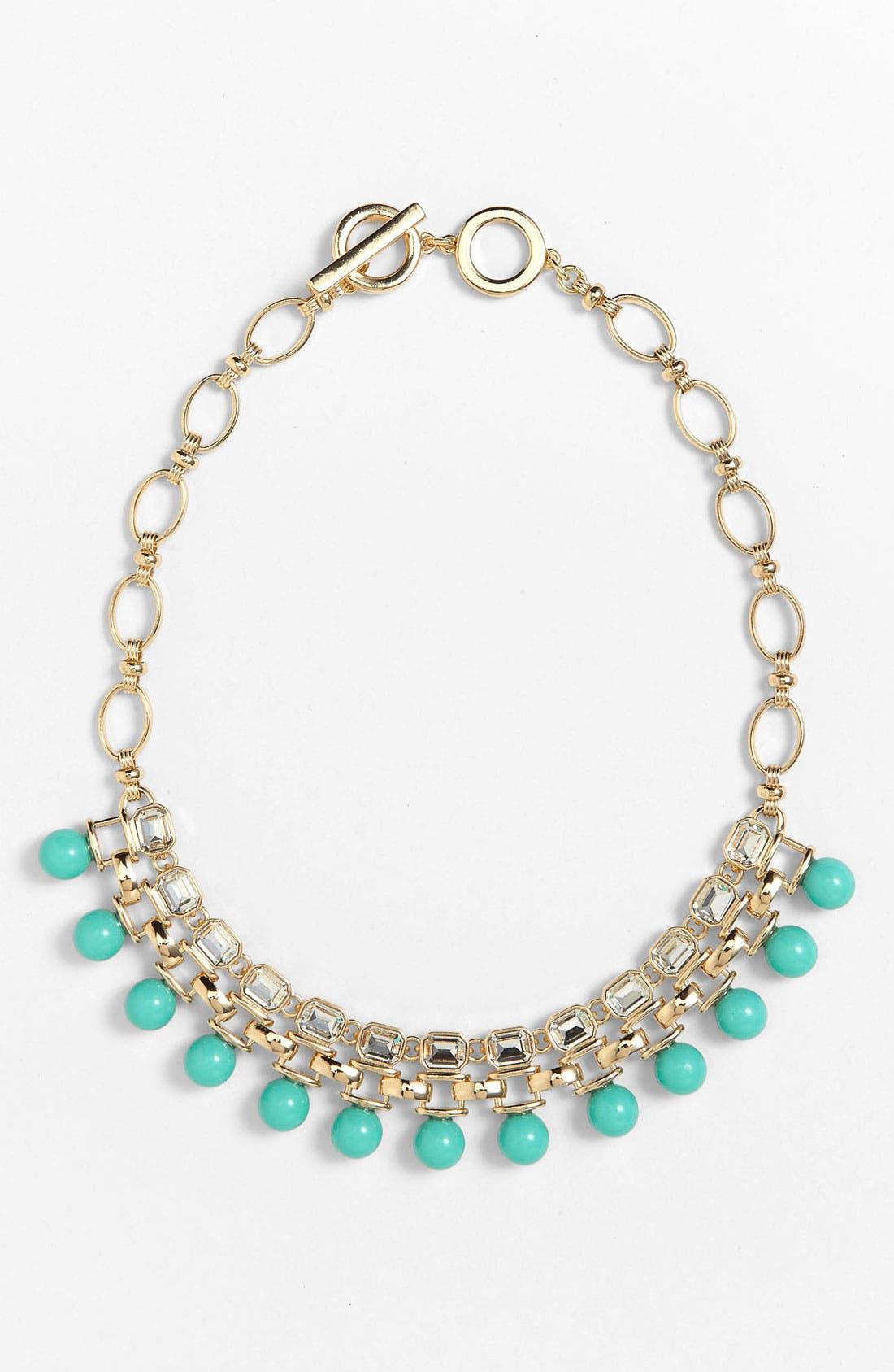 Alternate Image 1 Selected - Anne Klein 'Sorbet' Bib Necklace