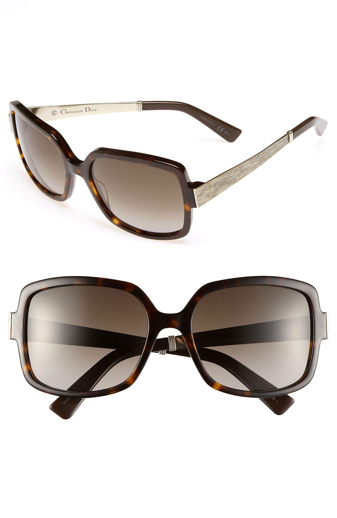 Main Image - Dior 'Soie 2' 56mm Sunglasses