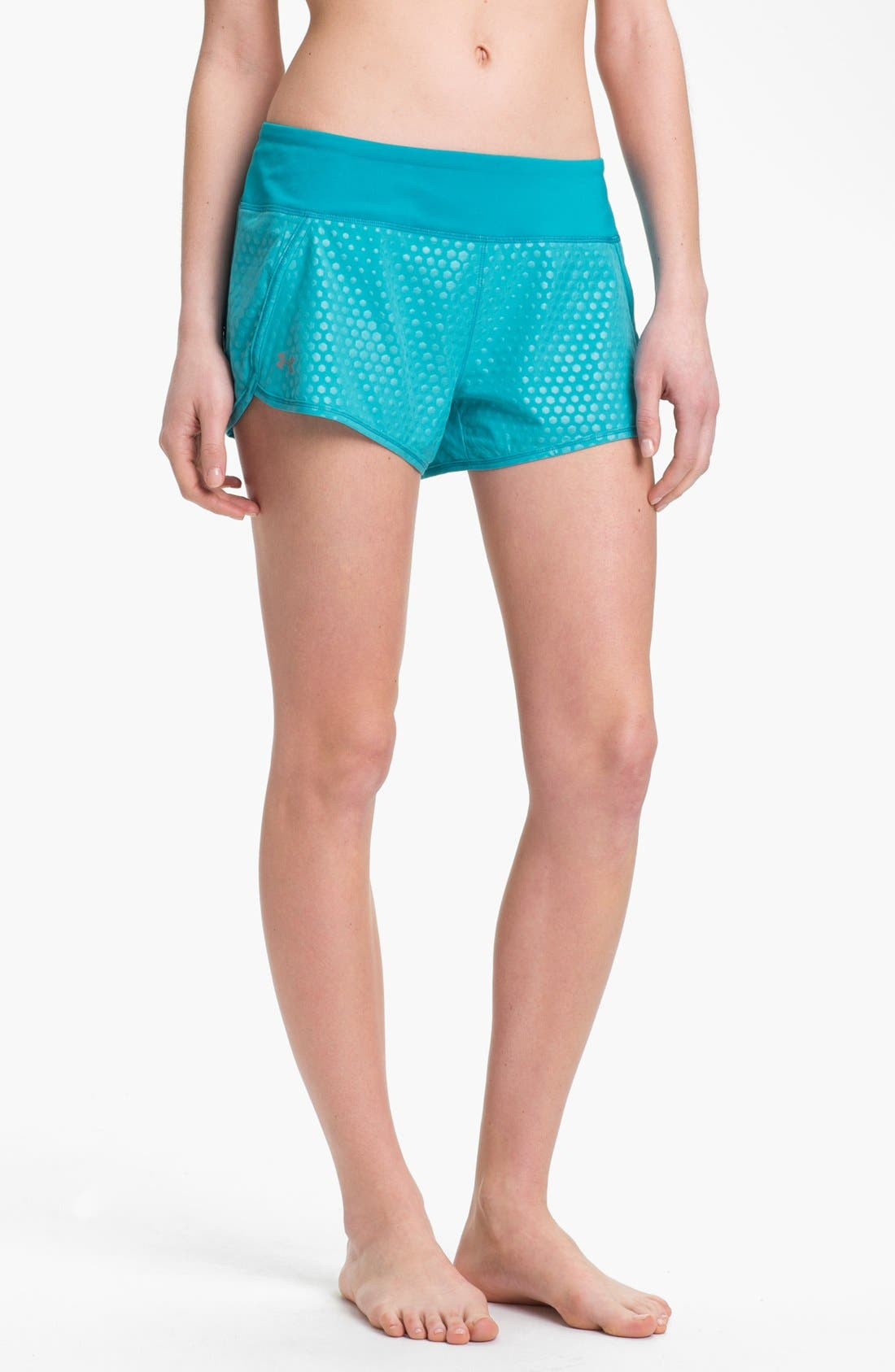 Main Image - Under Armour 'Get Set Go' Print Running Shorts