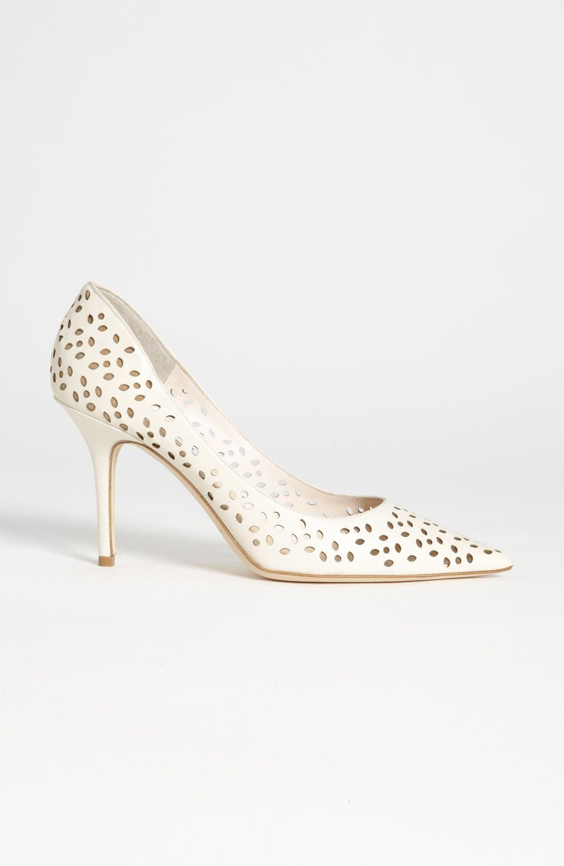 Alternate Image 4  - Jimmy Choo 'Agnes' Perforated Pump