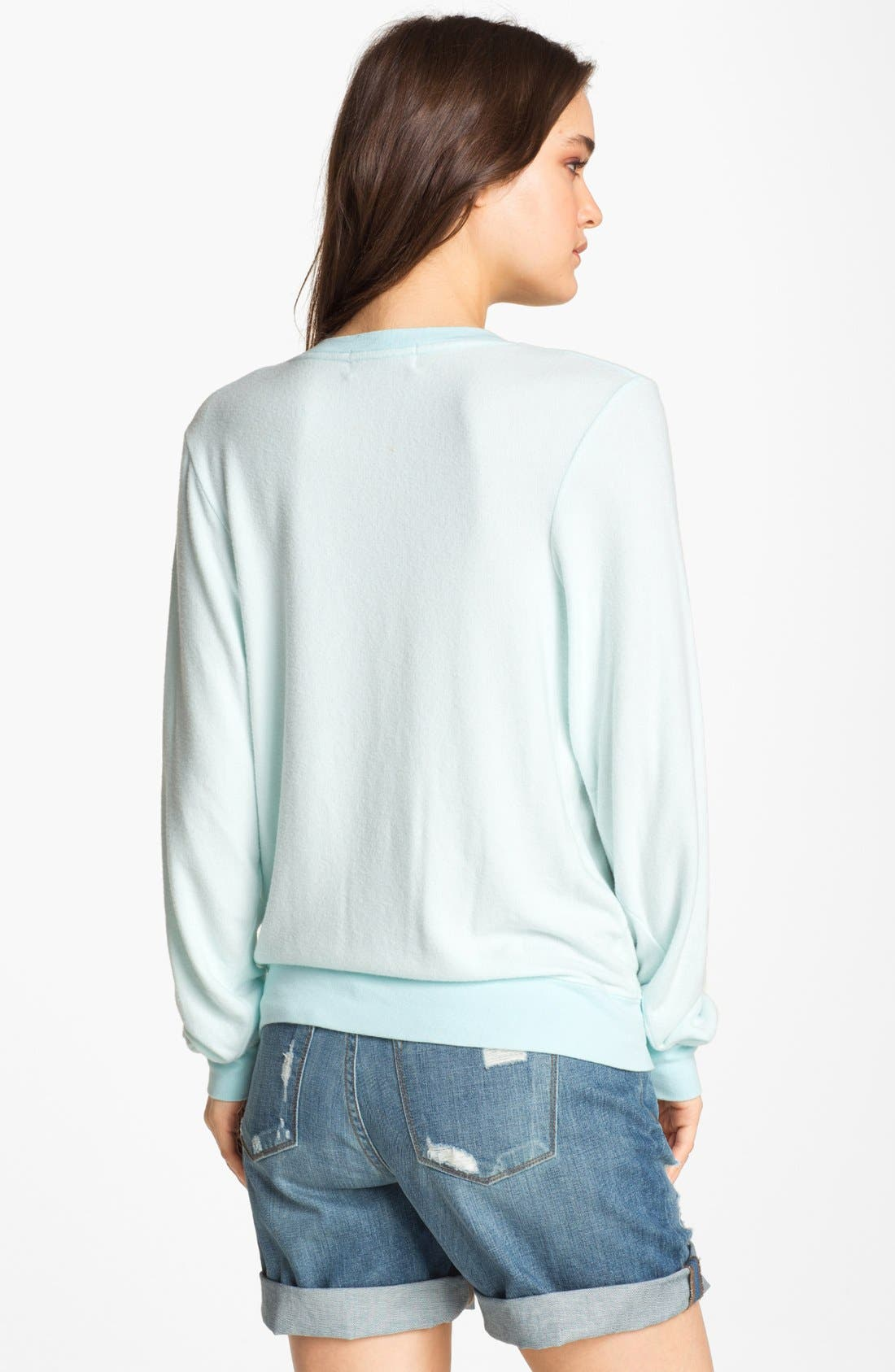 Alternate Image 2  - Wildfox 'Bon Voyage' Graphic Sweatshirt (Nordstrom Exclusive)