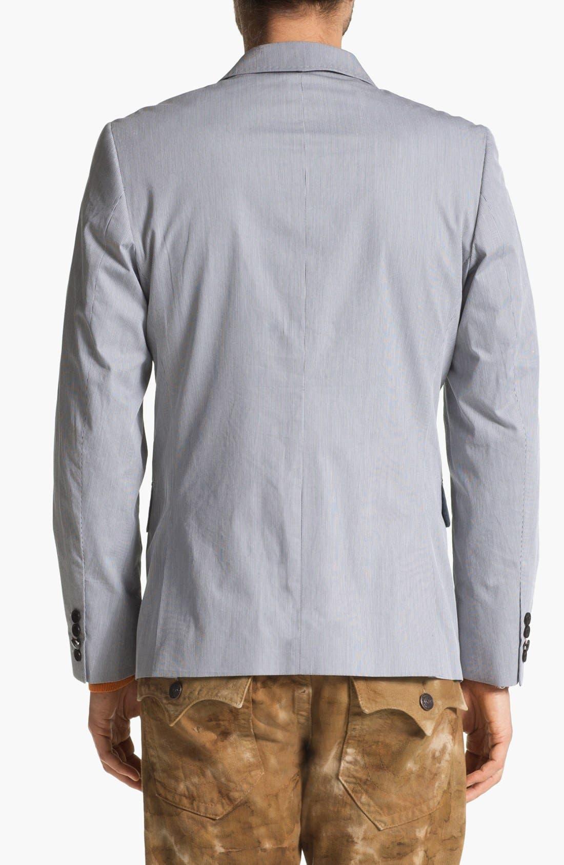 Alternate Image 2  - Howe Stripe Cotton Blazer