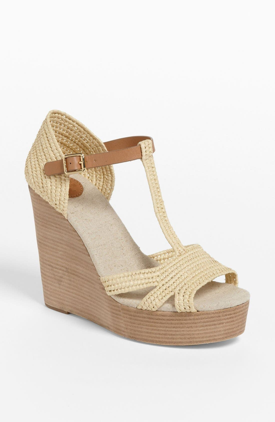 Alternate Image 1 Selected - Tory Burch 'Carina' Wedge Sandal