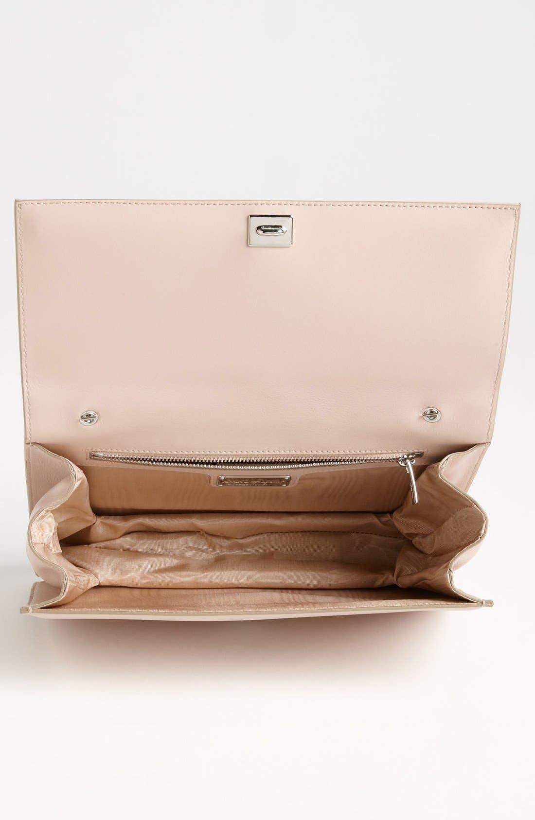 Alternate Image 3  - Salvatore Ferragamo 'Louvre Ginny - Mini' Leather Shoulder Bag