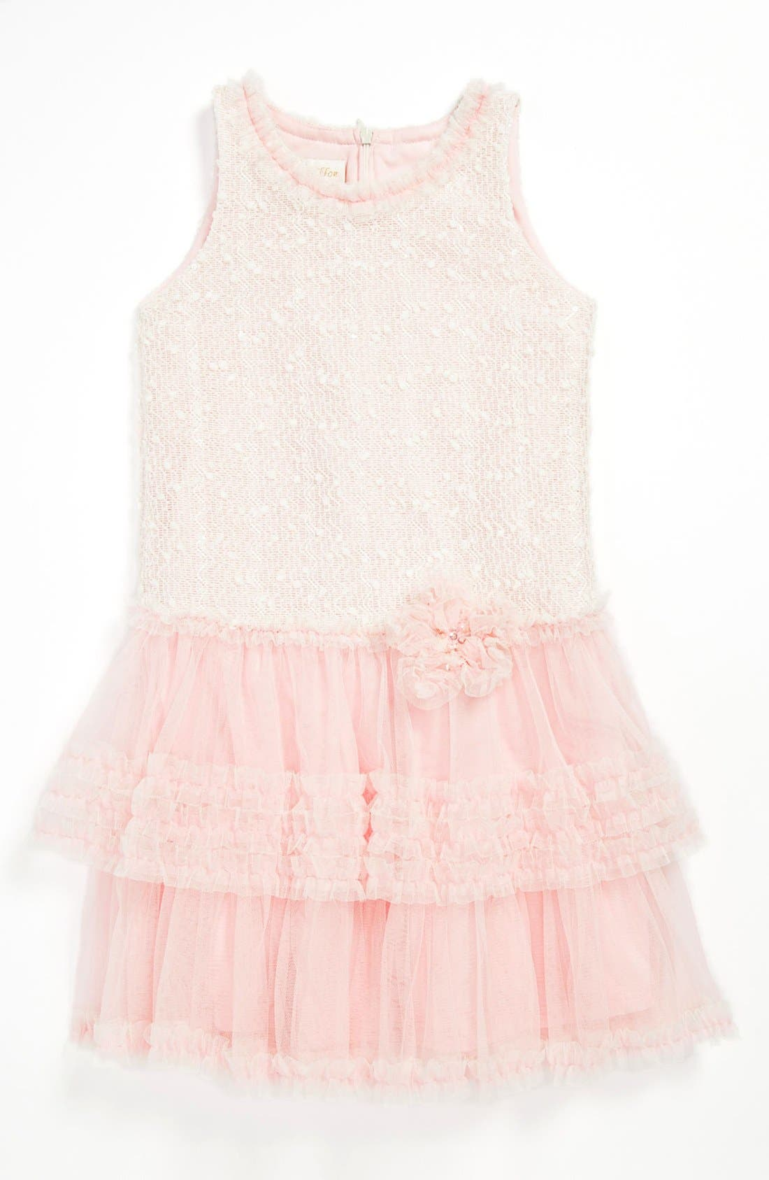 Alternate Image 1 Selected - Isobella & Chloe Drop Waist Dress (Little Girls)