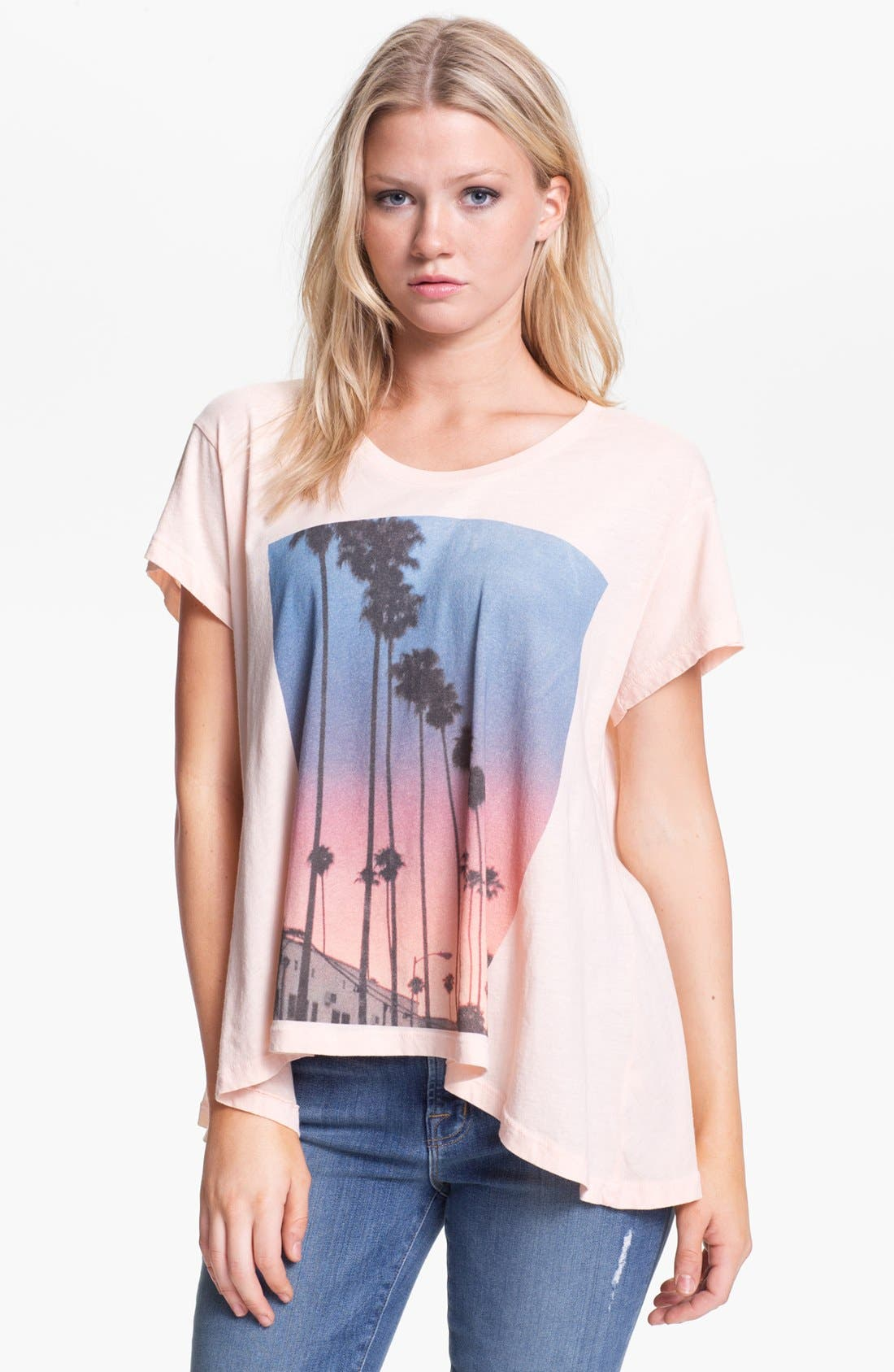 Alternate Image 1 Selected - Wildfox 'Canyon Palms' Tee (Nordstrom Exclusive)