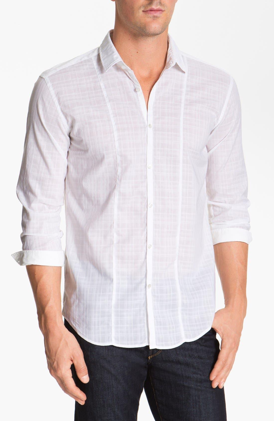 Alternate Image 1 Selected - BOSS HUGO BOSS 'Pancho' Slim Fit Sport Shirt
