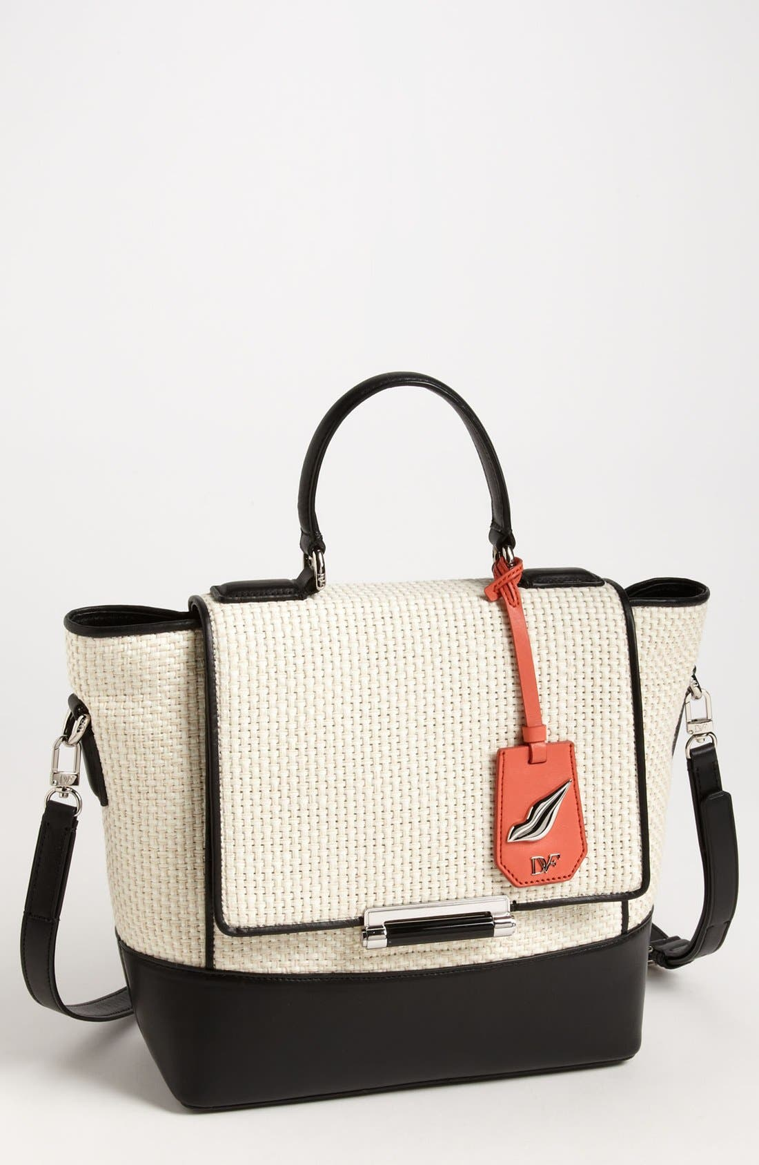 Alternate Image 1 Selected - Diane von Furstenberg '440 Top Handle - Small' Tote