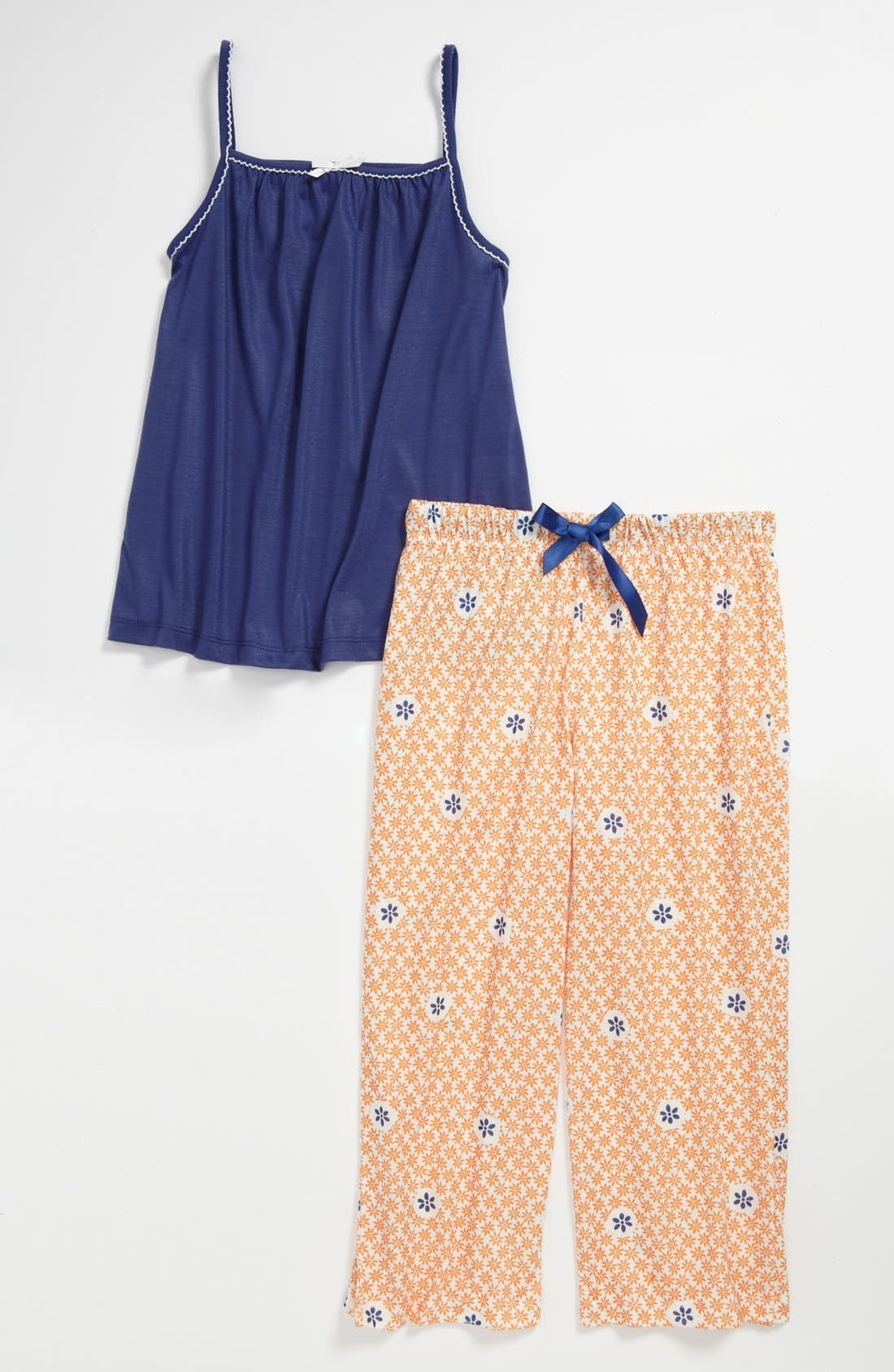 Main Image - Tucker + Tate Two-Piece Pajamas (Little Girls & Big Girls)