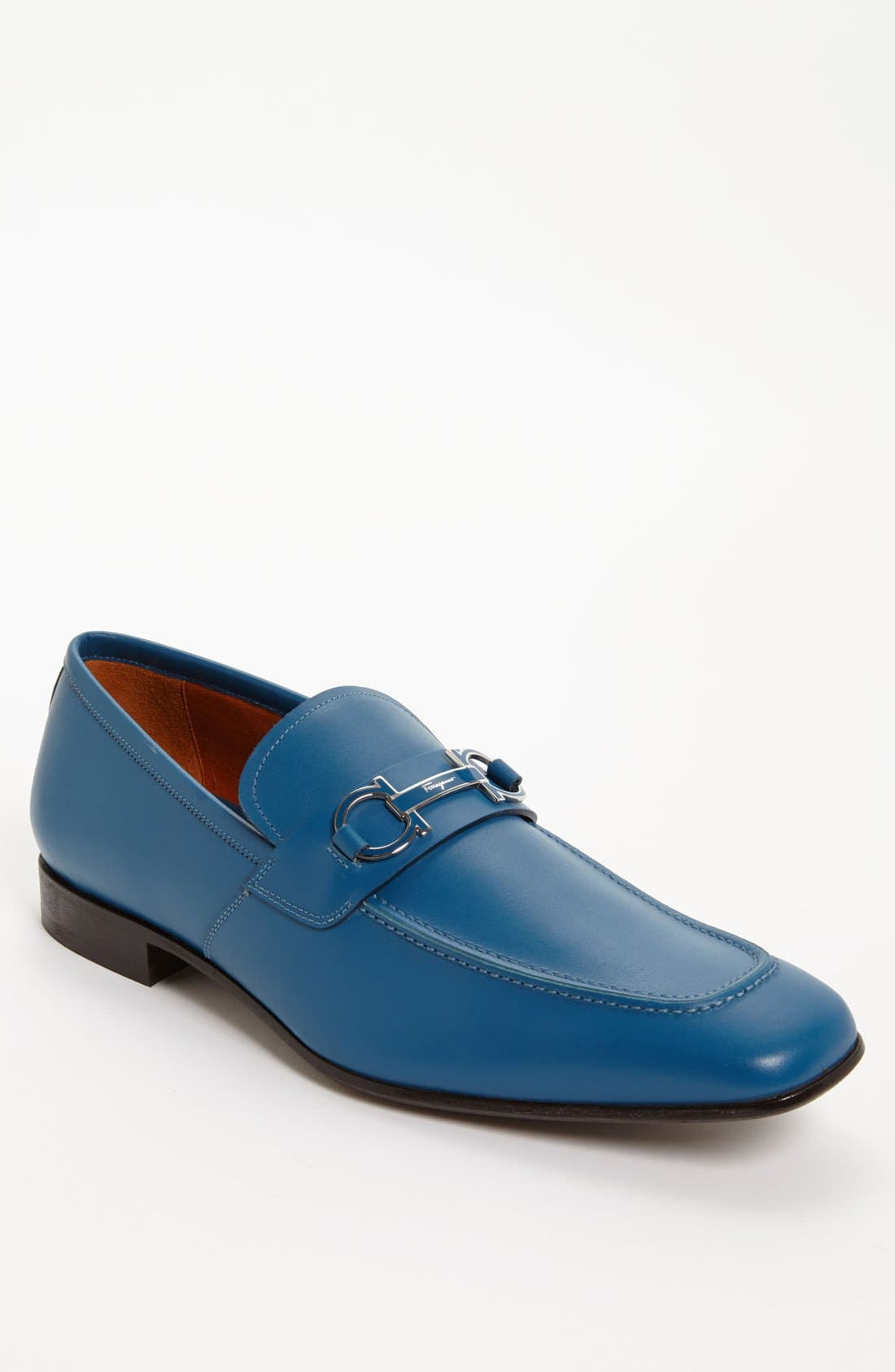 Alternate Image 1 Selected - Salvatore Ferragamo 'Tribute' Bit Loafer