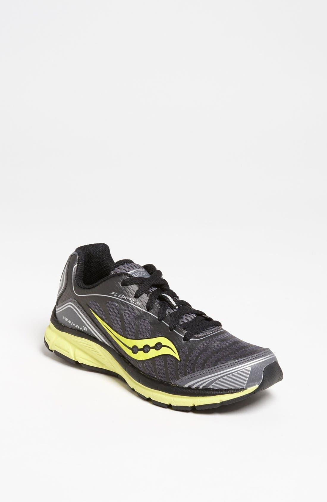 Alternate Image 1 Selected - Saucony 'Kinvara' Athletic Shoe (Toddler, Little Kid & Big Kid)