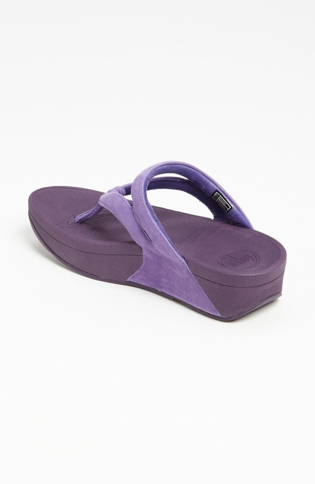 Alternate Image 2  - FitFlop 'Whirl™' Suede Sandal