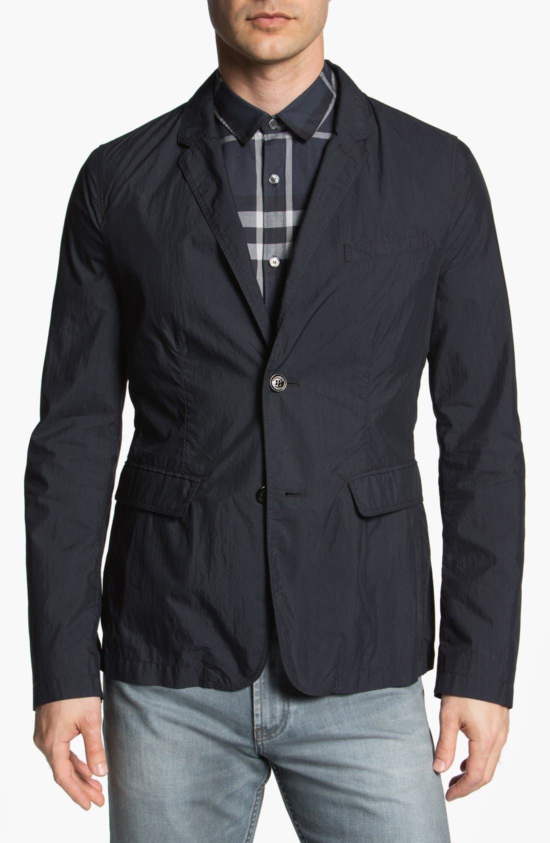 Alternate Image 1 Selected - Burberry Brit 'Wickham' Trim Fit Sportcoat