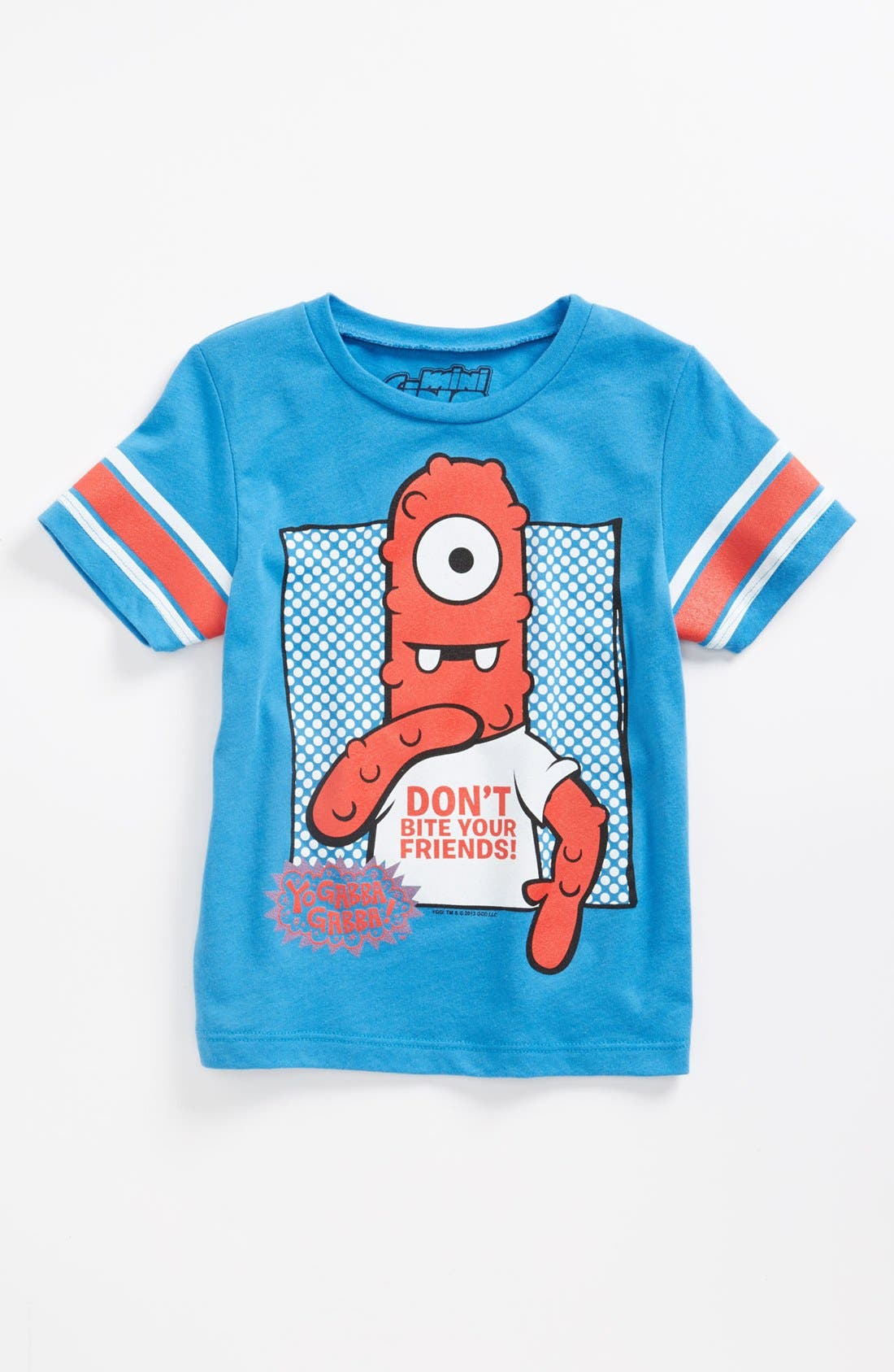 Alternate Image 1 Selected - Mighty Fine 'Don't Bite Your Friends' T-Shirt (Toddler)