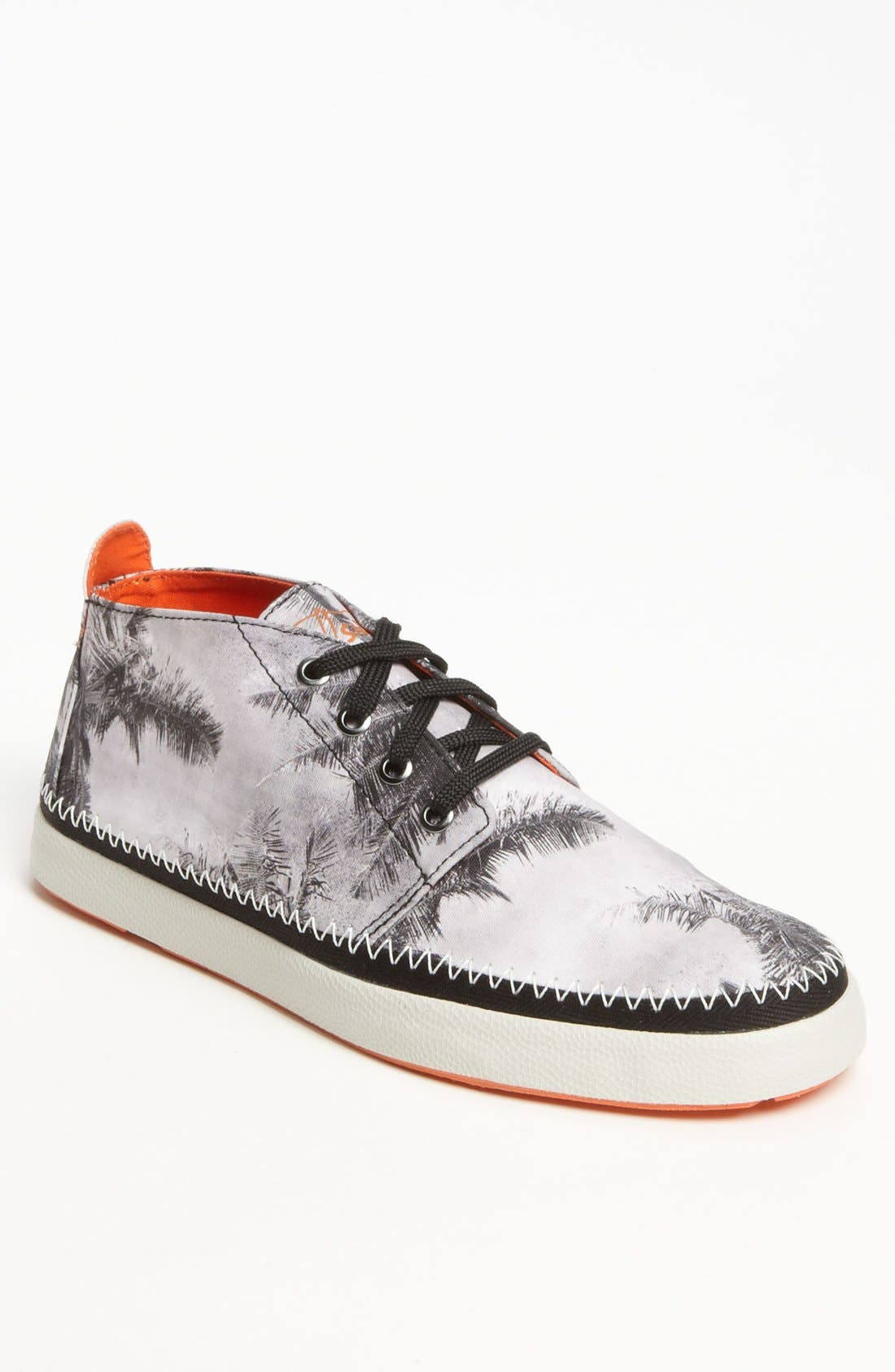 Top-Sider<sup>®</sup> 'Drifter' Chukka Boot,                         Main,                         color, Black/ White Print