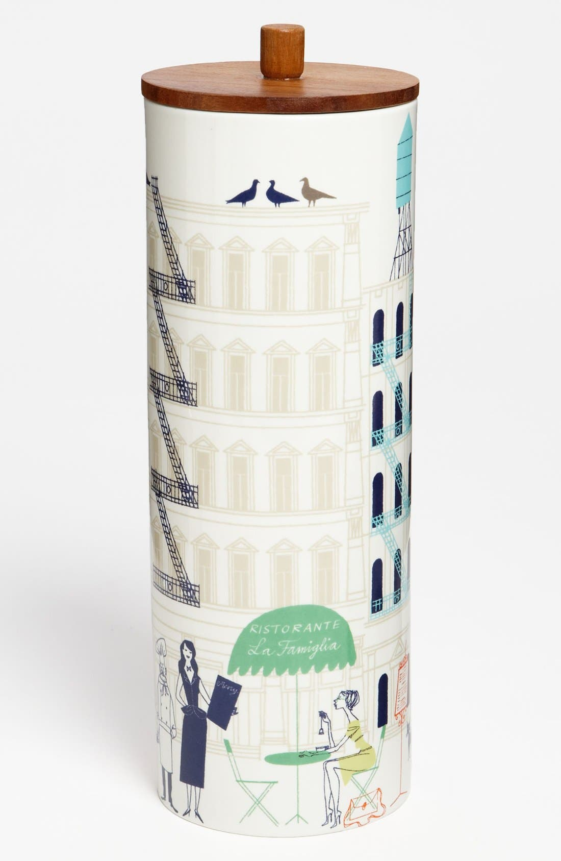 Alternate Image 1 Selected - kate spade new york 'hopscotch drive about town' tall canister
