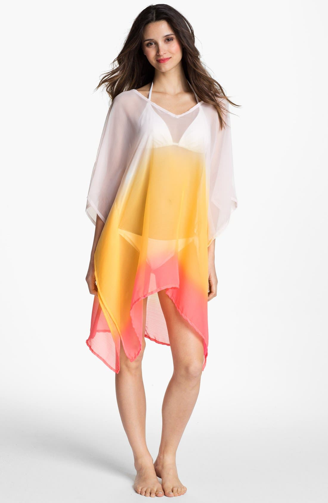 Alternate Image 1 Selected - Echo Ombré Caftan Cover-Up