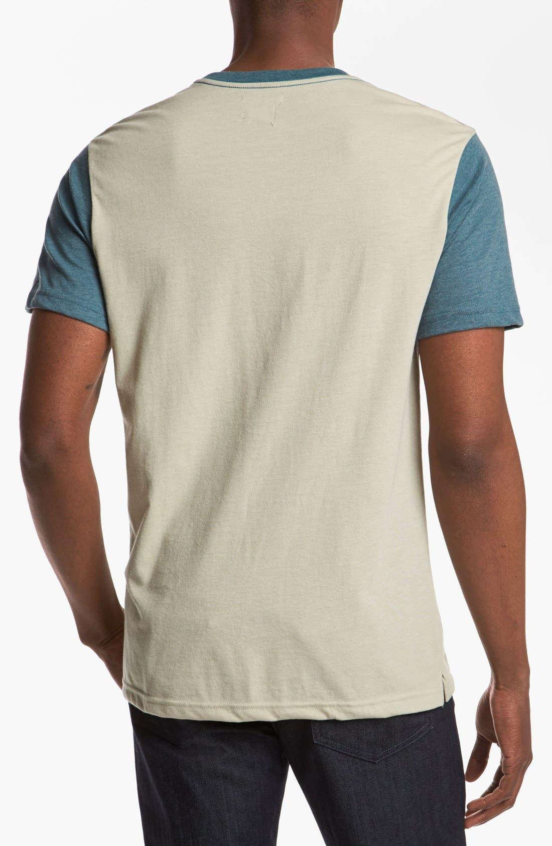 Alternate Image 2  - RVCA Two Tone T-Shirt