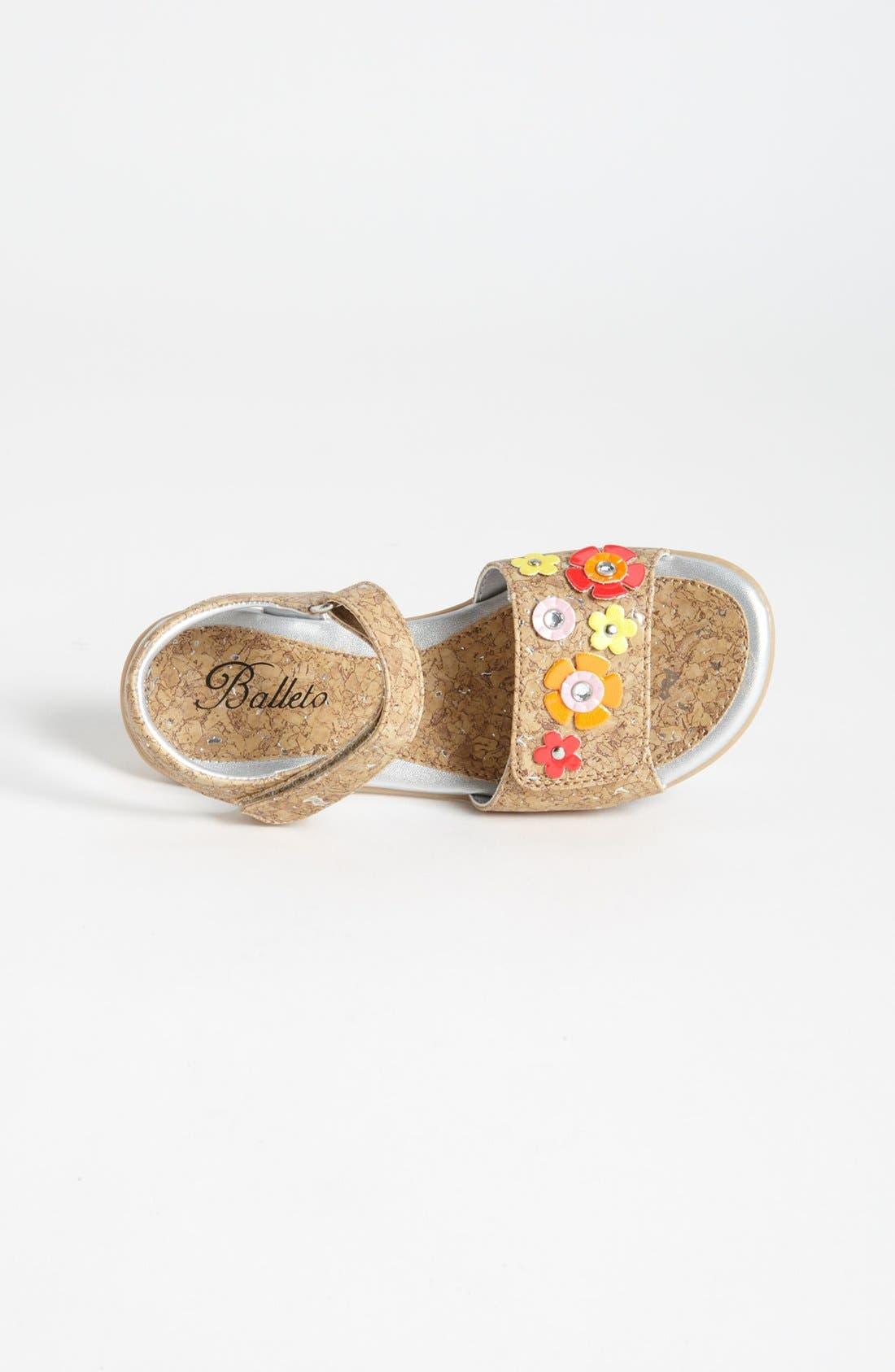 Alternate Image 3  - Balleto 'Corky' Sandal (Walker, Toddler, Little Kid & Big Kid)